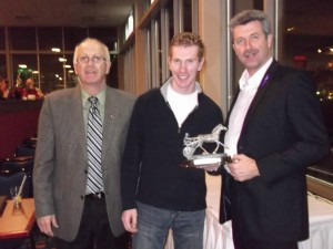 Rookie of the Year Nick MacGillvary